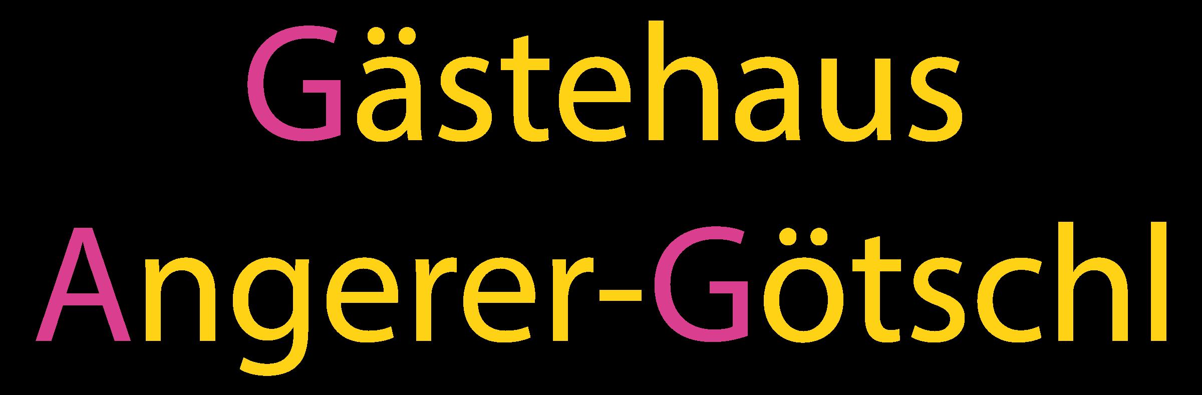Logo Gästehaus Angerer-Götschl
